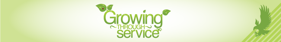 AHC Growing Through Service 2011 banner