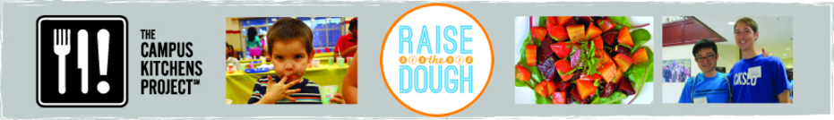 The Raise the Dough Challenge 2013 banner