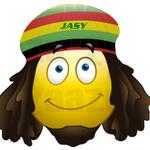 Size 150x150 reggae smilie boy