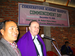 Bob Osburn with Thangboi Haokip at inauguration of Cornerstone Academy of Manipur (founded by Thangboi in December 2009)