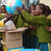 Students loved the educational materials funded by Elimu Africa.