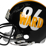 Size 150x150 hines ward pittsburgh steelers autographed authentic player helmet 3351306