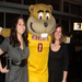 Hanging out with Goldy Gopher!