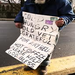 Homeless veteran on streets in need of food and shelter.