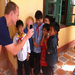 Spending time with children at a school in Nam Mon, Vietnam where NorthWood has provided clean water and school supplies
