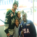 DinoMights with Cal Clutterbuck at NHL Entry Draft clinic