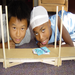 Students build bridges at summer academic camp