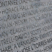 David J Scott - My father's name on the National Memorial Wall