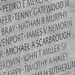 My dad's name on the Police Memorial Wall in Washington D.C.