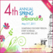 The 4th Annual Spring for Alexandria promotional graphics courtesy of PCI Communications