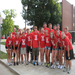 Volunteering to help new students move-in;