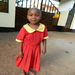 Ivone in her school uniform