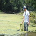 Shenandoah Riverkeeper Jeff Kelble with Algae Build Up
