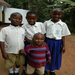 Riziki, Severina and Wema with Yasiri on the day of their admission interview to Moshi Academy