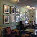 Nina Tisara's Living Legend portraits displayed at St. Elmo's Coffee Pub, 2300 Mt. Vernon Avenue, Alexandria