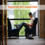 Cascadia Community College Foundation - 2011 Annual Fund