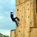 We love to utilize our climbing wall for outdoor adventures