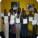 WAP's Positive Pathways Community Health Workers, celebrating completion of their Positive Pathways training