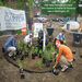 Working with Habitat for Humanity to Plant Rain Gardens