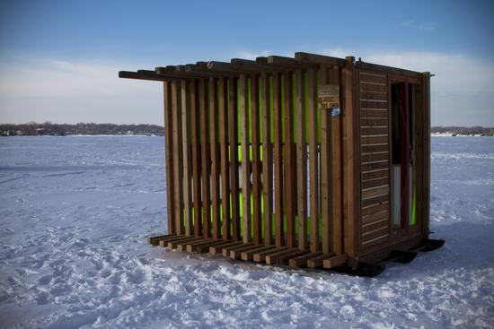 Bradley S Blog Minnesota Art Shanty Projects Displaying