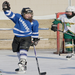 A 10-year-old going by the name of Freak Show celebrates her hat trick at the Langford Classic. Photo by Lori Hamilton
