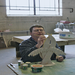 David, an artist who works at Anodyne Art Center, works on his ceramic project. Photo by Lori Hamilton