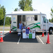 The Mobile Health Van out in the community