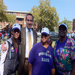 Our Executive Director and Staff with Mayor Grey Walking to Eradicate Domestic Violence