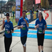 Coming in last at the Tacoma City Half Marathon last year after getting all our teammates over the finish line.