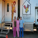 The Ronald McDonald Care Mobile stops at CEAP to give routine dental services to families in need.