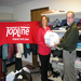 TopLine Federal Credit Union donates clothing to CEAP's Clothing Closet.