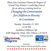 Get Informed on Poverty and Early Education in New Orleans