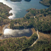 Aerial view of the Wildlife Research Center and surrounding area.