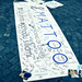 The global MATTOO banner with hundreds of signatures (Czech Republic)