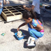 Childrens plot helps kids learn about growing their food