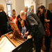 Jacques demonstrating the harpsichord after a Family Concert