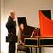 Jacques teaching during a harpsichord master class
