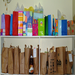 Birthday gift bags at a food shelf