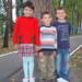 Tanya (8 yrs), Vladimir (7 yrs) and Sergey (6 yrs)