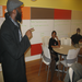 Biz Club 6th graders learning about Entrepreneurship