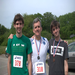 With sons Stephen and Ian after race in Minuteman National Park in 2010.