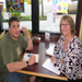 Mason works with his tutor, Judy, towards his goal of passing the GED.