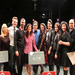 Shohreh Aghdashloo and Housheng Touzie with the cast and team of Our Sweet Life by the Pacific