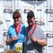 Ann and I after finishing the Mayor's Marathon in Alaska last June.