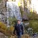 This is me, Tumalo Falls, Oregon!