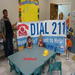 Andalusia 2-1-1 Board of Director Susan Short with Children in Covington County