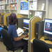 Using the library computer and internet access