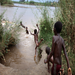 Even something as simple as swimming can put people at risk of NTDs - these waters are infested with schistosomiasis