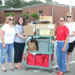 Collecting school supply donations for areas impacted the hardest by Alabama tornades with Operation Education