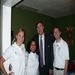 Huntsville Mayor Tommy Battle enjoying a Home Energy Block Party with the Nexus Staff.
